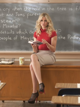 Cameron Diaz in Bad Teacher, who would probably fall afoul of the new regulations.