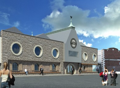 Artist's impression of what the distillery in the Liberties will look like.