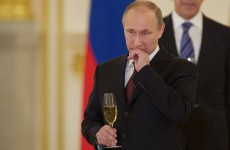 Putin says gay people at Olympics must 'leave children alone'