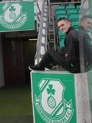 Waters: scored against Drogheda last night.