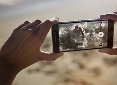 The new Sony Xperia Z2 smartphone