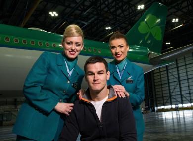 Jonny Sexton is an ambassador for Aer Lingus.
