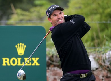 Ireland's Padraig Harrington during day four of the 2013 Open Championship at Muirfield Golf Club.