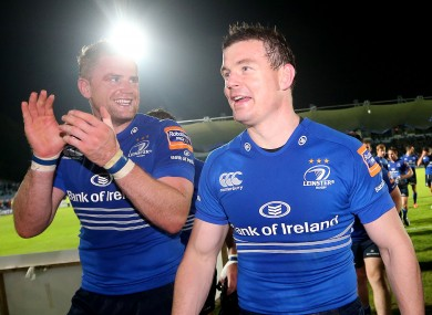 Jamie Heaslip has left Brian O'Driscoll with some questions to answer. Again.
