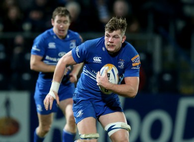 Murphy has impressed in the back row for Leinster this season.