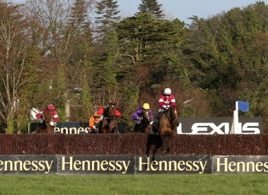 Last Instalment ridden by Brian O'Connell on the way to victory.