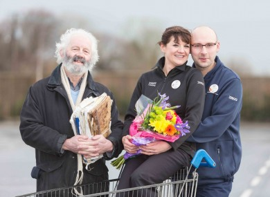 Leokadia and Michal Rospek from Tesco Kilrush, who celebrate their 11 year anniversary on Valentine's Day.