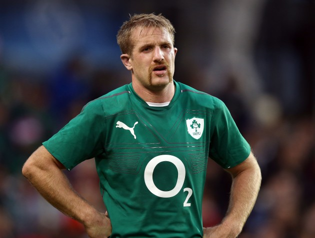 Luke Fitzgerald dejected