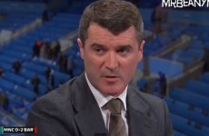Roy Keane on Vincent Kompany's post-match comments: 'he doesn't know what he's talking about'