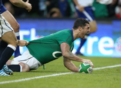 Rob Kearney was in superb form for Ireland in Dublin.