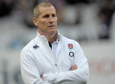 Stuart Lancaster: aiming for Calcutta Cup win.