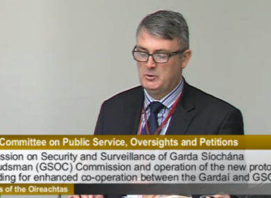 Simon O'Brien of the Garda Siochana Ombudsman Commission