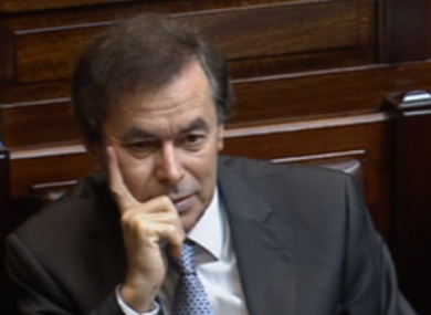 Alan Shatter in the Dáil this morning