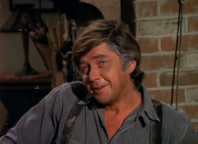 Ralph Waite as John Walton.