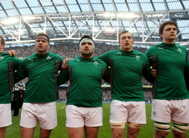 The odd one out? Tommy O'Donnell will likely be named in Munster's starting line-up tomorrow.