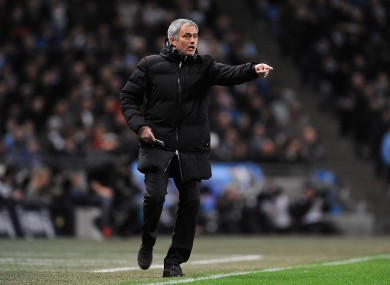 Image result for images of Mourinho giving out instruction