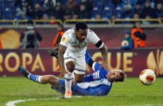 Shocking Soldado miss punished as Dnipro hit Spurs late