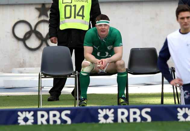Brian O'Driscoll during his sin binning
