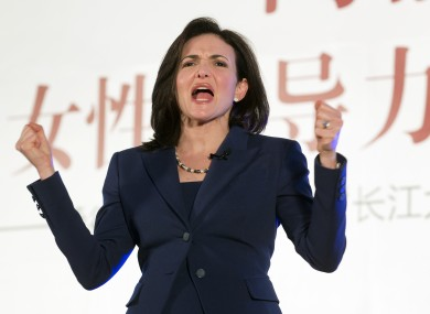 Facebook COO Sheryl Sandberg in Beijing last year