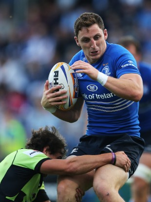 Hudson has scored three tries for Leinster this season.