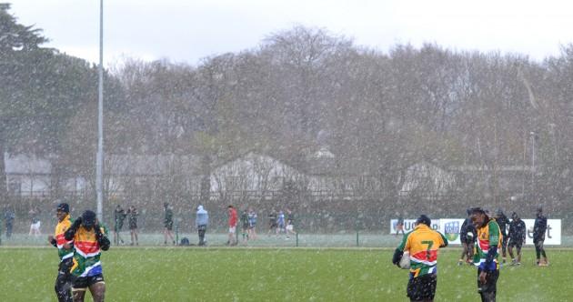 South African GAA team train in UCD ahead of Ballyboden St Enda's clash