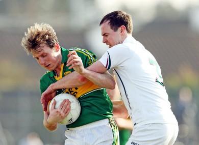 Kildare face Kerry on Sunday.