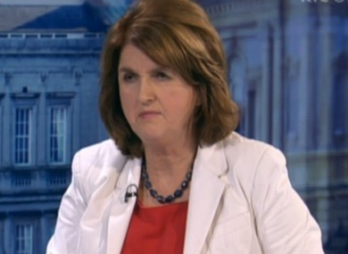 Joan Burton today on The Week in Politics