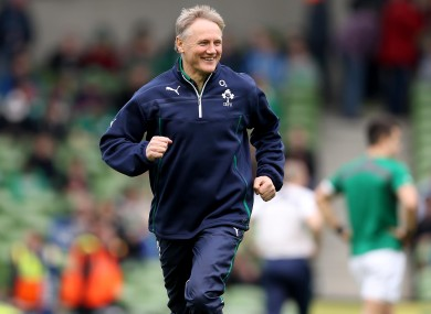 Joe Schmidt says winning against France in Paris will be a