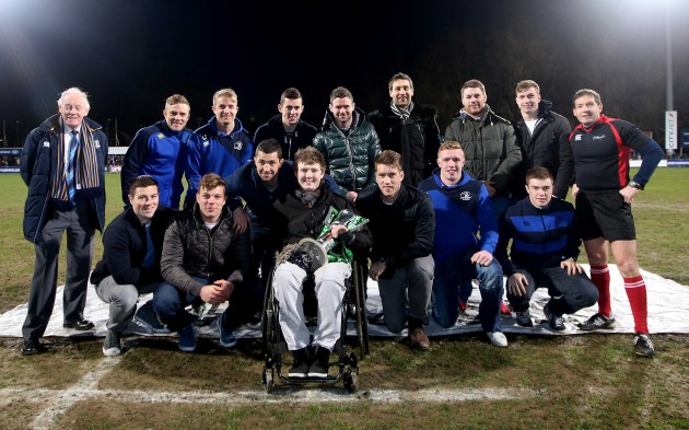 Leinster players and Jack Kavanagh