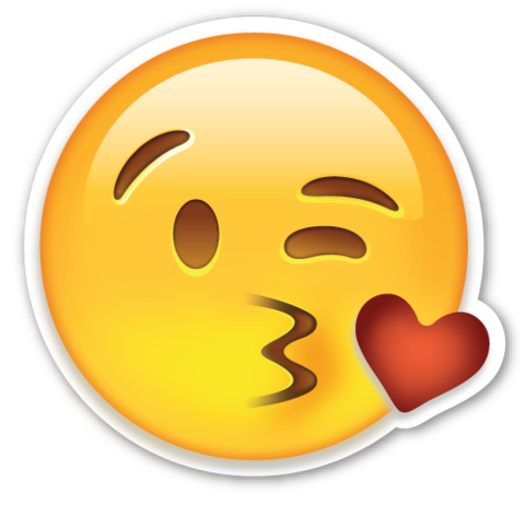 flirting face emoji As the human species relies less and less on our actual faces and mouth-holes to communicate, emojis have taken on a crucial role in helping.
