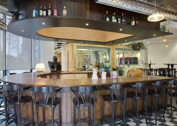 airbnb s swanky dublin offices designed to look like irish pub