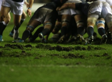 The Murrayfield surface has caused great problems this season.