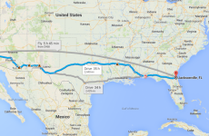 Here's what it would be like to drive across the United States in