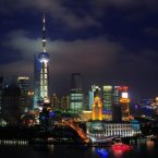 Shanghai, China's most populated city, is located on the Yangtze River Delta, making it vulnerable to serious flooding from storms and typhoons. Its long coastline and the large volume of water flowing through the city makes it especially at risk. <span class=