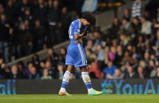 Chelsea's title hopes take a big blow as they lose to Villa