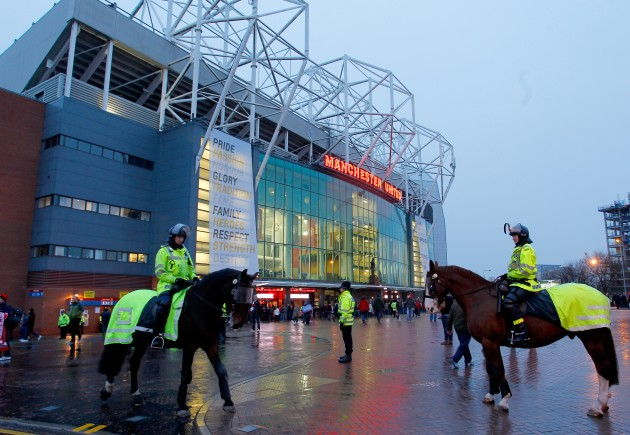 Soccer - Barclays Premier League - Manchester United v Manchester City- Old Trafford