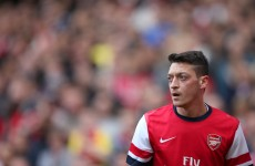 Ozil set for four-week absence