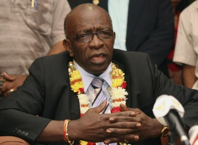 Jack Warner is alleged to have been paid $1.2 million (£720,000) from a company controlled by a former Qatari official.