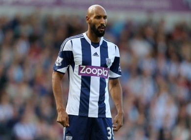 Anelka is no longer employed by West Brom.