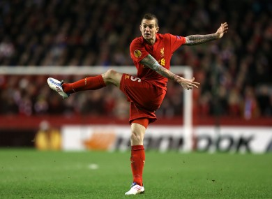 Daniel Agger, Liverpool.