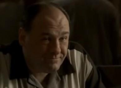 A scene from Sopranos