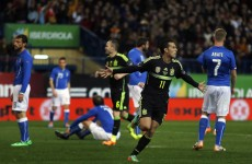 Pedro strike hands Spain win over Italy