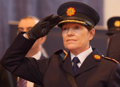 Garda Commissioner Noirín O'Sullivan today.