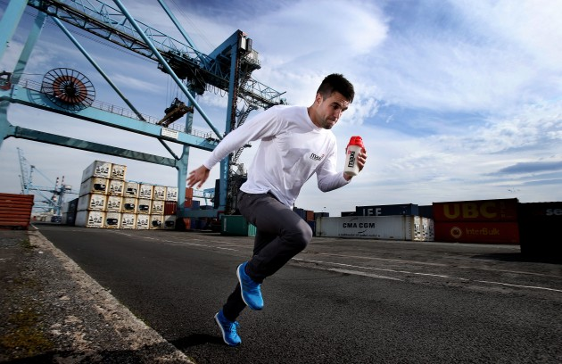Conor Murray Officially Unveiled as MaxiNutrition Ambassador