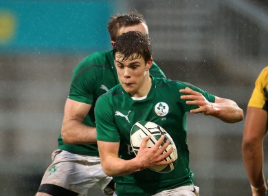 Gary Ringrose, an international at U20 level, is back in the U19 squad.
