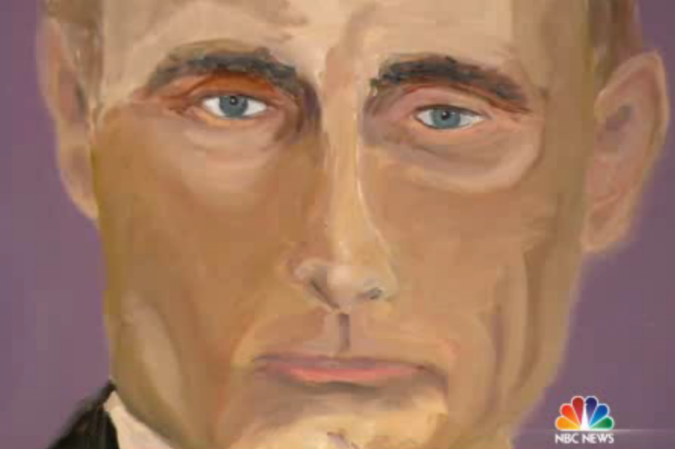 George W Bush Has Turned His Hand To Painting Here S His Portrait