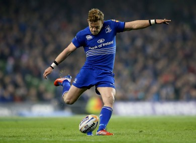 Ian Madigan is one of the place-kickers Murphy works closely with.