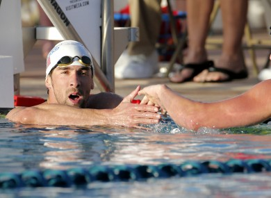 Phelps, left, has 18 Olympic gold medals to Lochte's five.