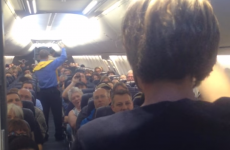 Flight attendant's comedy safety briefing has passengers in stitches