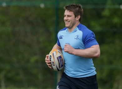 O'Brien has been back in training with Leinster in recent weeks.
